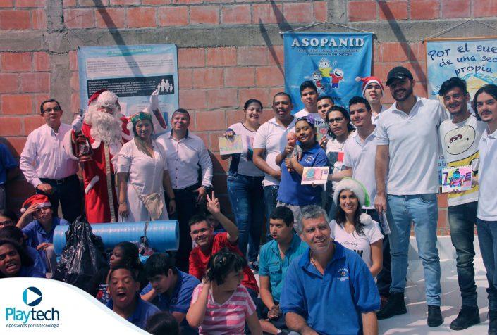 Fundación Asopanid para niños con síndrome de down